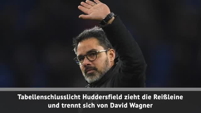 Huddersfield Town trennt sich von David Wagner