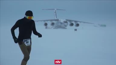 Marathon durch die Antarktis: Extremsport bei -25°C