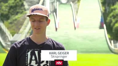 So bereitet sich Karl Geiger auf den Weltcup vor