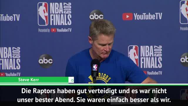 """Kerr nach Pleite: """"Sie waren einfach besser"""""""