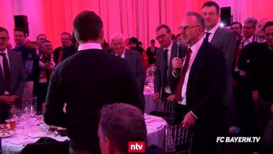 Rummenigges Bankettrede: Flick winkt Bayern-Vertrag