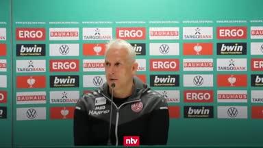 RWE-Coach hadert mit der Elfmeter-Entscheidung