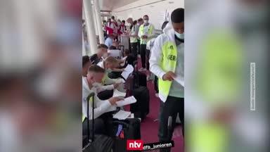 Deutsche Fußballer starten schwierige Olympia-Mission