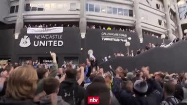 Newcastle-Fans bejubeln Übernahme durch Scheich