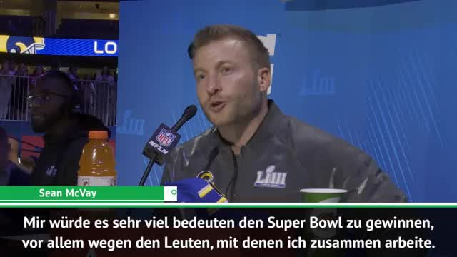 Super Bowl: McVay will den Ring in der Heimatstadt
