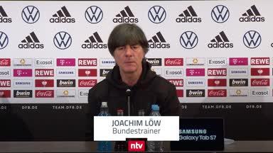 """Löw über Nachfolge: """"Hört mal in die Mannschaft rein!"""""""