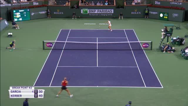 Indian Wells: Kerber souverän ins Viertelfinale