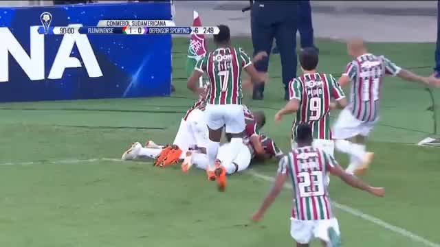 Copa Sudamericana: Direkte Ecke à la Basler