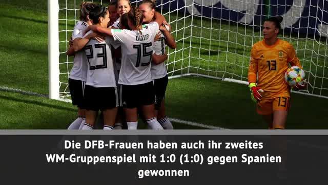 Fast Match Report: DFB-Frauen schlagen Spanien