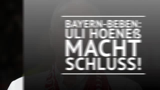 Bayern-Beben: Uli Hoeneß macht Schluss beim FCB!