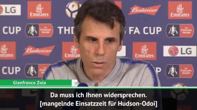 Hudson-Odoi: Zola verneint mangelnde Spielzeit
