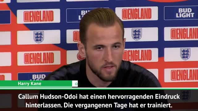 Kane sagt Hudson-Odoi goldene Zukunft voraus