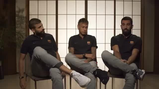 Neymar, Pique und Turan begeistert von Valverde
