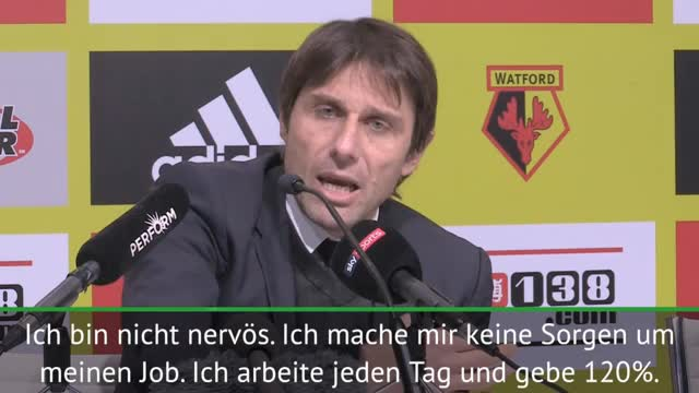"""Conte bald weg?: """"Mache mir keine Sorgen"""""""