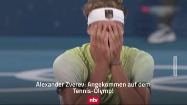 Zverev jubelt über olympisches GOLD im Tennis