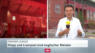 """""""Grenzenlose Liebe"""" für Klopp in Liverpool"""
