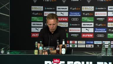 """Nagelsmann moniert """"unglaublich viele Ballverluste"""""""