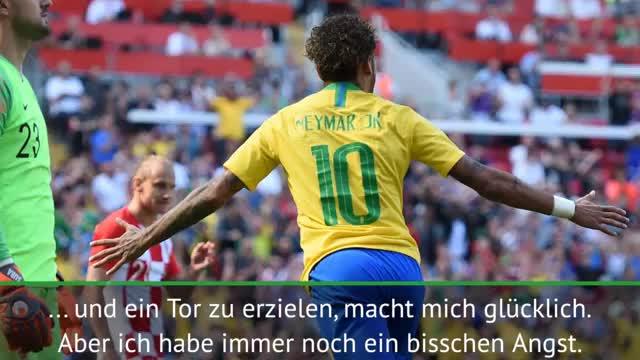 "Brasiliens Neymar: ""Bin bei 80 Prozent"""