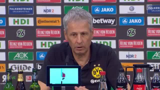 """Favre nach 96-Spiel: """"Haben viel gelitten"""""""