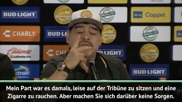 Mexiko: Maradona schadenfroh über DFB-Aus