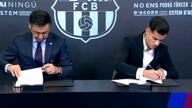 Glücklicher Coutinho in Barcelona vorgestellt