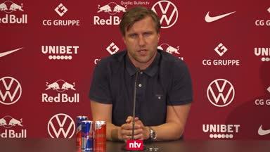 RB-Sportdirektor Krösche spricht über Werner-Wechsel
