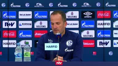 Schalke-Coach Baum: Haben an der Offensive gearbeitet