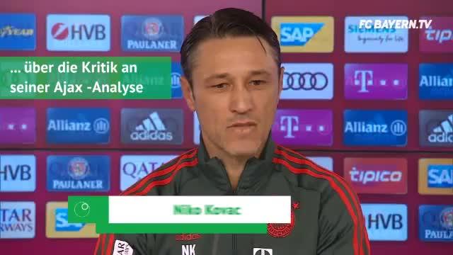 Nach Kritik: Kovac holt zum Gegenschlag aus