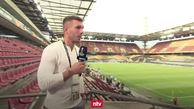 Podolski schwärmt von 8:2-Gala des FC Bayern