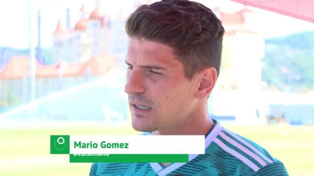 "Gomez: ""Werden gegen Schweden gewinnen"""