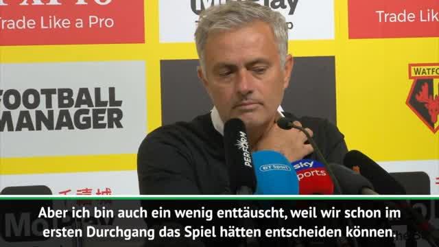 Zwiegespaltener Mourinho nach Auswärtssieg