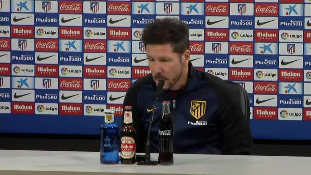 Copa del Rey: Simeone hat Respekt vor Barca
