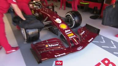 2. Training: Ferrari droht nächstes Debakel