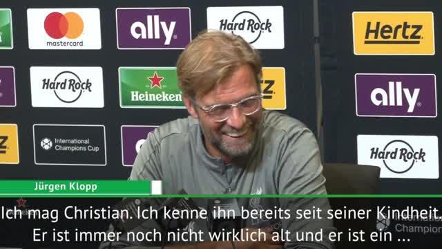 """Klopp: Pulisic zum LFC? """"Fantastischer Spieler"""""""