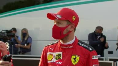Das sagt Vettel nach dem Imola-Qualifying