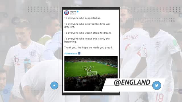 """It's not coming home"": Netzreaktionen zum England-Aus"