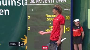 Zverev noch nicht in Wimbledon-Form
