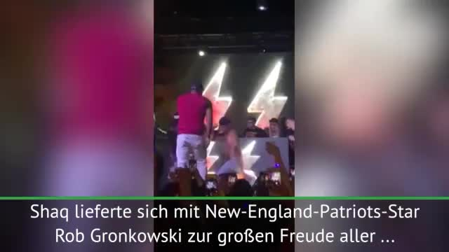 Shaq vs. Gronk: Episches Dance Battle in Miami
