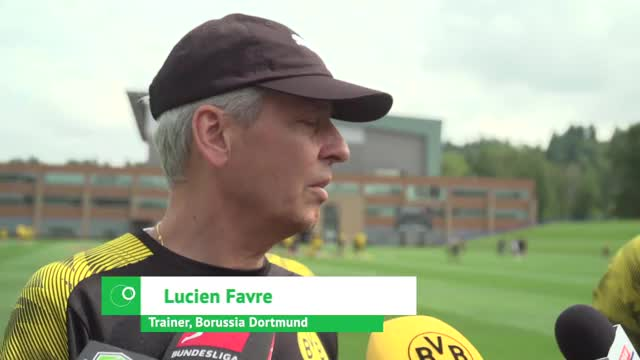 """Favre fordert Sancho: """"Er hat noch zu tun"""""""