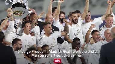 Titel mit Real Madrid stimmt Zidane euphorisch