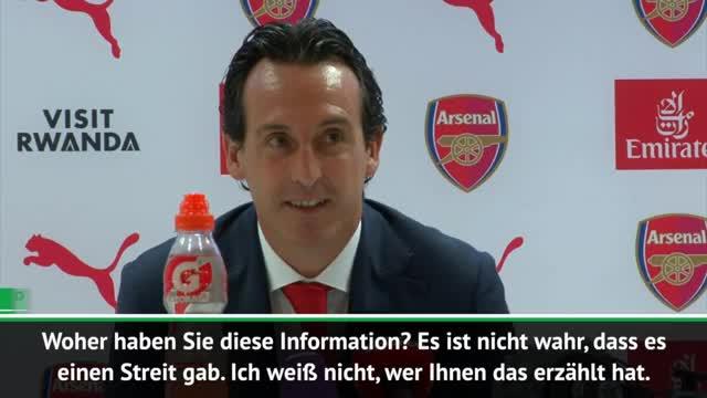 Trainingszoff? Emery erklärt Özil-Verzicht