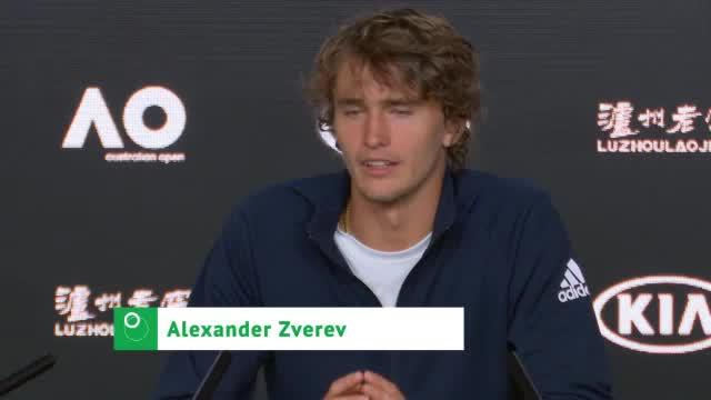 """Zverev: """"Sehe mich nicht als Favoriten"""""""