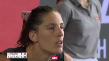 Petkovic furios - Zverev überrascht
