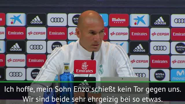 """Zidane trifft auf seinen Sohn: """"Wird komisch"""""""