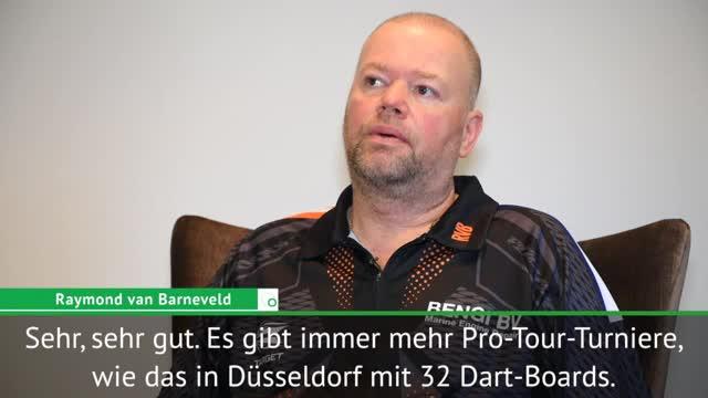 Darts: Van Barneveld: Deutschland boomt!