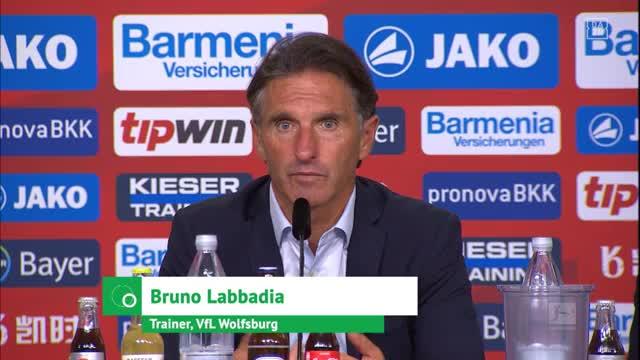 """Labbadia: """"Die drei Torschützen gewünscht"""""""