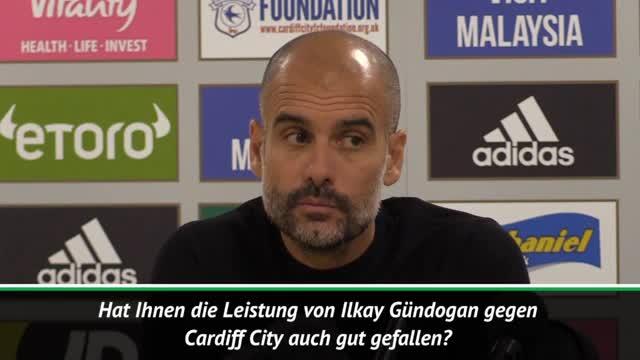 Guardiola: Das ist der Gündogan, den wir kennen