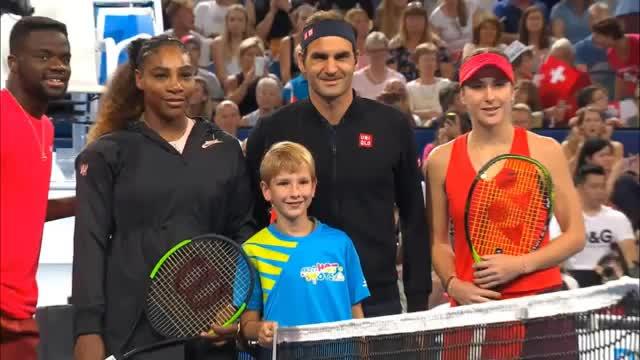 Hopman Cup: Federer siegreich gegen Serena