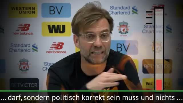 """Jürgen Klopp kocht: """"Ich bin wütend!"""""""