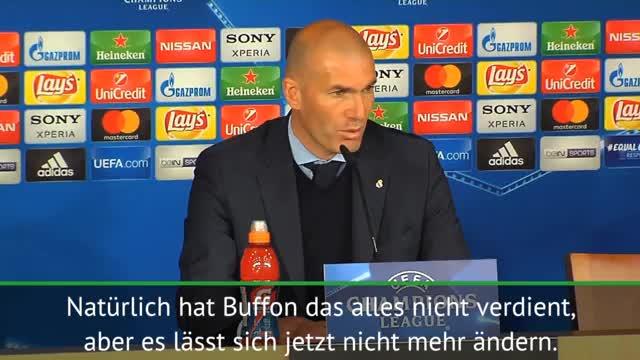 """Zidane: """"Buffon hat das nicht verdient"""""""